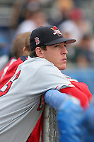 Lowell Spinners Paul Smyth during a NY-Penn League game at Dwyer Stadium on July 22, 2006 in Batavia, New York.  (Mike Janes/Four Seam Images)