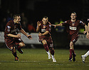 26/01/2010  Copyright  Pic : James Stewart.sct_jspa07_stenhousemuir_v_dunfermline  .:: STENNY'S KEVIN BRADLEY CELEBRATES SCORING TH EQUALISER :: .James Stewart Photography 19 Carronlea Drive, Falkirk. FK2 8DN      Vat Reg No. 607 6932 25.Telephone      : +44 (0)1324 570291 .Mobile              : +44 (0)7721 416997.E-mail  :  jim@jspa.co.uk.If you require further information then contact Jim Stewart on any of the numbers above.........