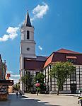 Zielona Góra (woj. lubuskie), 20.07.2013. Kościół p.w. Matki Bożej Częstochowskiej.