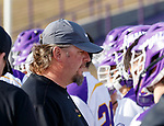 UAlbany Men's Lacrosse defeats Stony Brook on March 31 at Casey Stadium.  Albany coach Scott Marr.