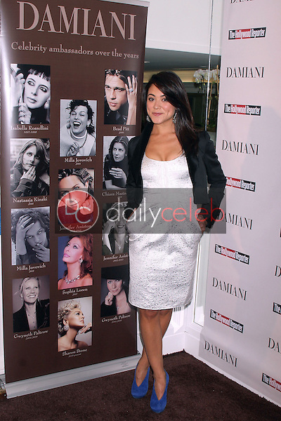 Camille Guaty<br /> at the Power 100 Women in Entertainment Coctail Party, thrown by Damiani Diamonds and the Hollywood Reporter, Private Location, Los Angeles, CA. 12-03-09<br /> David Edwards/Dailyceleb.com 818-249-4998