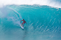 ANDY IRONS (HAW)  surfing at Banzai Pipeline, North Shore of Oahu, Hawaii. Photo: joliphotos.com