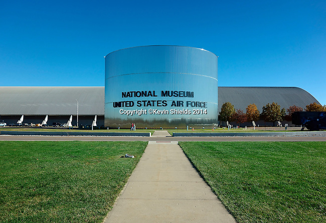 View of the National Museum of the United States Air Force, Dayton, Ohio, USA