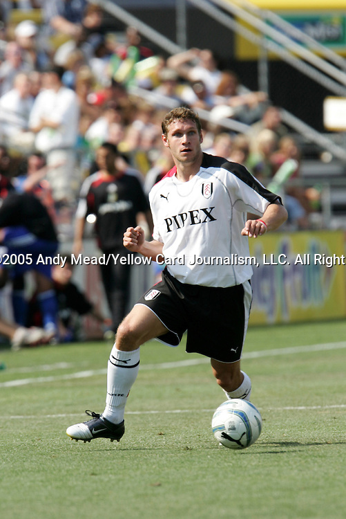 30 July 2005: Moritz Volz. Major League Soccer's All-Stars defeated Fulham FC of the English Premier League 4-1 at Columbus Crew Stadium in Columbus, Ohio in the 2005 Sierra Mist MLS All-Star Game.
