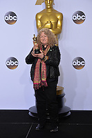 Jenny Beavan at the 88th Academy Awards at the Dolby Theatre, Hollywood.<br /> February 28, 2016  Los Angeles, CA<br /> Picture: Paul Smith / Featureflash
