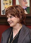 """Blair Brown from the cast of """"The Parisian Woman"""" honored with a Sardi's Wall of Fame Portrait on February 28, 2018 at Sardi's in New York City."""