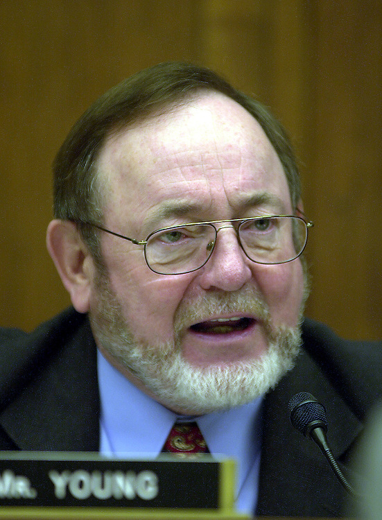 1young012302 -- Rep. Don Young (R-AK).