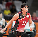 Haruyo Shimamura (JPN),<br /> AUGUST 8, 2016 - Volleyball : <br /> Women's Preliminary Pool A <br /> between Japan 3-0 Cameroon <br /> at Maracanazinho <br /> during the Rio 2016 Olympic Games in Rio de Janeiro, Brazil.<br /> (Photo by Enrico Calderoni/AFLO SPORT)
