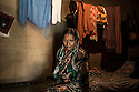 """Chhutney Mahato, 52 years old, lives in Birbans, Jharkhand State. In 1995, she was accused of witchcraft by her in-law family, after five people in the village of Mahatandi had died in mysterious circumstances. Beaten several times by the villages, she lost all her front teeth and was forced to live under a tree for more than three months. """"They used to forced me to eat excrements"""", she says, her voice broken by tears."""