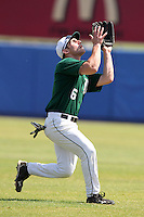 Dartmouth Big Green outfielder Sam Bean #6 during a game vs. the Long Island Blackbirds at Chain of Lakes Park in Winter Haven, Florida;  March 20, 2011.  Dartmouth defeated Long Island 6-0.  Photo By Mike Janes/Four Seam Images