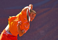 Austria, Kitzbühel, Juli 18, 2015, Tennis,  Junior Davis Cup,  Guy den Heijer (NED) <br /> Photo: Tennisimages/Henk Koster
