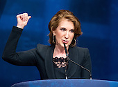 Carly Fiorina, Board Member, the American Conservative Union, Vice Chair, National Republican Senatorial Committee (NRSC), and former  Chief Executive Officer (CEO) Hewlett-Packard, makes remarks at the 2012 CPAC Conference at the Marriott Wardman Park Hotel in Washington, D.C. on Friday, February 10, 2012..Credit: Ron Sachs / CNP