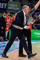 Real Madrid's coach Pablo Laso during Quarter Finals match of 2017 King's Cup at Fernando Buesa Arena in Vitoria, Spain. February 19, 2017. (ALTERPHOTOS/BorjaB.Hojas)