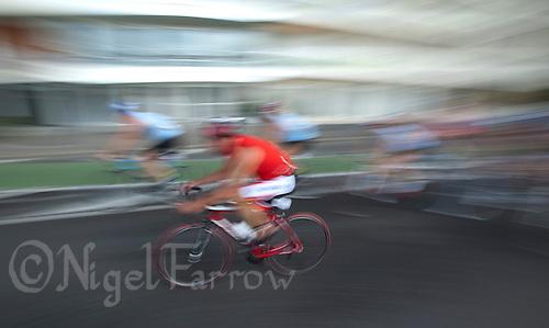 18 SEP 2011 - LA BAULE, FRA - Triathlon Decouverte (sprint distance) at the 24th Triathlon Audencia in La Baule, France .(PHOTO (C) NIGEL FARROW)