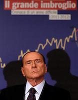 20120927 ROMA-POLITICA: BERLUSCONI PRESENTA IL LIBRO DI BRUNETTA