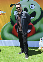 """10 August 2019 - Westwood, California - Jim Jefferies. Sony's """"The Angry Birds Movie 2"""" Los Angeles Premiere held at Regency Village Theater.   <br /> CAP/ADM/BT<br /> ©BT/ADM/Capital Pictures"""