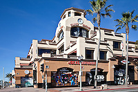 Downtown Shopping In Huntington Beach