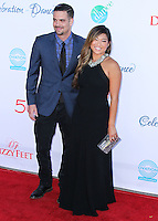 LOS ANGELES, CA, USA - JULY 19: Mark Salling, Jenna Ushkowitz at the 4th Annual Celebration Of Dance Gala Presented By The Dizzy Feet Foundation held at the Dorothy Chandler Pavilion at The Music Center on July 19, 2014 in Los Angeles, California, United States. (Photo by Xavier Collin/Celebrity Monitor)