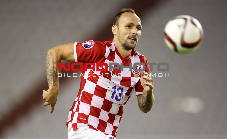12.06.2015., Croatia, stadium Poljud, Split - Qualifying match for the European Championship to be held in 2016 in France, Group H, Round 6, Croatia - Italy.  Gordon Schildenfeld<br /> <br /> Foto &copy;  nph / PIXSELL / Igor Kralj;
