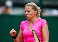 France, Paris , May 27, 2015, Tennis, Roland Garros, Michaella Krajicek (NED)<br /> Photo: Tennisimages/Henk Koster