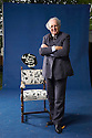 Alexander McCall Smith,Scottish author with the Scottish Pen Empty Chair   at The Edinburgh International  Book Festival 2010 .CREDIT Geraint Lewis