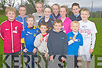 Pictured at the Spa Muckross Community Games in Killarney on Tuesday evening were Sean Fitzgerald, Oisin Lynch, Cian Lynch, David O'Donoghue, Joshua Livingstone, Elizabeth Stack, Ruth Courtney, Tristian O'Donoghue, MArie and Grace Courtney, Kianan O'Doherty and Garry Vaughan.