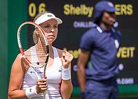 London, England, 1  st July, 2019, Tennis,  Wimbledon, Anett Kontavelt (EST)<br /> Photo: Henk Koster/tennisimages.com