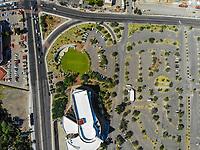 Museo de Arte de Sonora, MUSAS. Estacionamiento de MUSAS.  Paisaje urbano, paisaje de la ciudad de Hermosillo, Sonora, Mexico.<br /> Urban landscape, landscape of the city of Hermosillo, Sonora, Mexico.<br /> (Photo: Luis Gutierrez /NortePhoto)