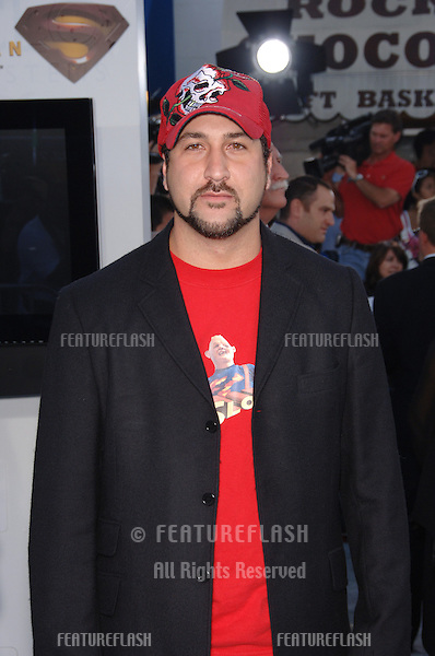 "Pop star JOEY FATONE at the world premiere of ""Superman Returns"" in Los Angeles..June 21, 2006  Los Angeles, CA.© 2006 Paul Smith / Featureflash"