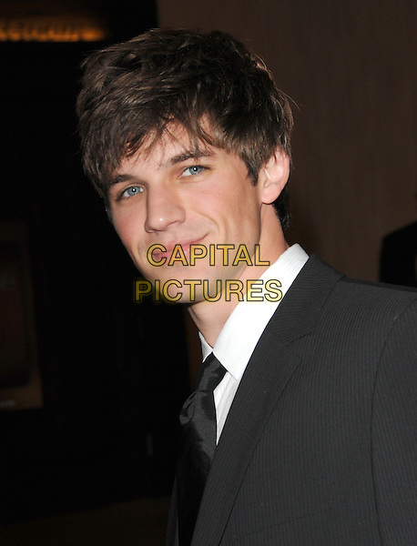 MATT LANTER.Leaving the 67th Golden Globes held at The Beverly Hilton Hotel in Beverly Hills, California, USA..January 17th, 2010 .departures headshot portrait black.CAP/DVS.©Debbie VanStory/Capital Pictures