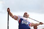IPC European Athletics Championship 2014<br /> Danny Nobbs GBR<br /> Men's Javelin F54<br /> Swansea University<br /> <br /> 21.08.14<br /> ©Steve Pope-SPORTINGWALES