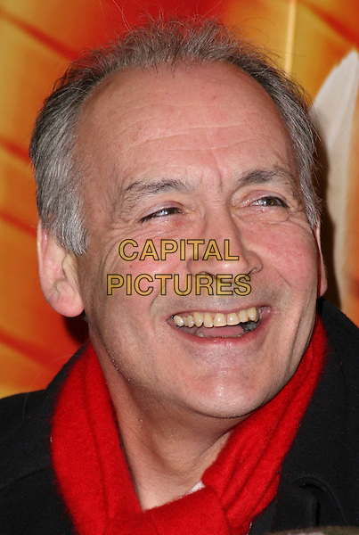 "ALASTAIR STEWART.VIP Screening of ""Bolt 3D"" at Cineworld, Haymarket, London, England,.February 1st 2009..portrait headshot red scarf smiling teeth .CAP/JIL.©Jill Mayhew/Capital Pictures"
