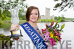 Illona O'Donoghue who was crowned the Killarney Regatta Queen in the Killarney oaks on Tuesday night