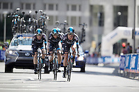 Vasil Kiryienka (BLR/SKY) leading his teammates into the last kilometer<br /> <br /> Elite Men&rsquo;s Team Time Trial<br /> UCI Road World Championships Richmond 2015 / USA