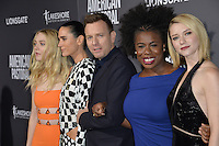 BEVERLY HILLS, CA. October 13, 2016: Dakota Fanning &amp; Jennifer Connelly &amp; Ewan McGregor &amp; Dakota Fanning &amp; Uzo Aduba &amp; Valorie Curry at the Los Angeles premiere of &quot;American Pastoral&quot; at The Academy's Samuel Goldwyn Theatre.<br /> Picture: Paul Smith/Featureflash/SilverHub 0208 004 5359/ 07711 972644 Editors@silverhubmedia.com