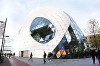 Nederland Eindhoven 2017. De Blob in Eindhoven. De Blob is een winkelcentrum ontworpen door Massimiliano Fuksas. Foto Berlinda van Dam / Hollandse Hoogte