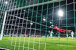 11.02.2018, Weserstadion, Bremen, GER, 1.FBL, SV Werder Bremen vs VfL Wolfsburg<br /> <br /> im Bild<br /> Koen Casteels (VfL Wolfsburg #01) beim 2:0, aufgenommen mit remote / Hintertorkamera, <br /> <br /> Foto &copy; nordphoto / Ewert