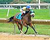Blue Shine winning at Delaware Park on 10/1/16