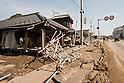 Mar. 13, 2011 - Kita-Ibaraki, Japan - A house is shown in ruins two days after the 8.9 magnitude earthquake struck followed by a tsunami that hit the north-eastern region. The death toll is currently unknown with casualties that may run well into the thousands.