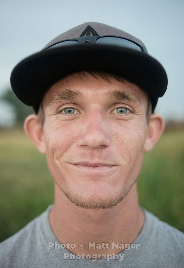 Joseph Echtinaw (cq) who has come to Williston, North Dakota looking for work as part of the sharp rise in shale drilling for oil in the large Bakken Formation, Tuesday, July 17, 2012. ..Photo by MATT NAGER