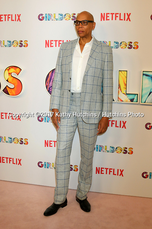 "LOS ANGELES - APR 17:  RuPaul Charles at the ""Girlboss"" Premiere Screening at ArcLight Theater on April 17, 2017 in Los Angeles, CA"