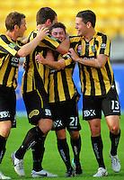 101218 A-League Football - Wellington Phoenix v Newcastle Jets