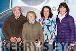 Sean and Maureen O'Neill, Fiona O'Donoghue and Judy O'Mahony at the screening of The Dawn in Killarney cinema on Tuesday night