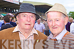 Tony Moore and Tony Lynch from Ballybunnion enjoying the form at Listowel Races last Saturday afternoon.