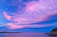 Sunset on Chedabucto Bay, Fox Island, Nova Scotia, Canada
