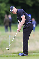 Scott Henry (SCO) putts on the 3rd green during Sunday's Final Round of the Northern Ireland Open 2018 presented by Modest Golf held at Galgorm Castle Golf Club, Ballymena, Northern Ireland. 19th August 2018.<br /> Picture: Eoin Clarke | Golffile<br /> <br /> <br /> All photos usage must carry mandatory copyright credit (&copy; Golffile | Eoin Clarke)
