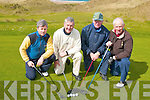 Dominic Moriarty, Sr. Dominic Moriarty Jr. Michael Barrett and Jack Fitzgerald from Ballybunion at the Ballybunion Golf Club Intermediate  Scratch Cup Competition on Sunday..   Copyright Kerry's Eye 2008