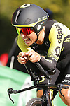 Jhoan Esteban Chaves (COL) Mitchelton-Scott in action during Stage 10 of La Vuelta 2019 an individual time trial running 36.2km from Jurancon to Pau, France. 3rd September 2019.<br /> Picture: Luis Angel Gomez/Photogomezsport | Cyclefile<br /> <br /> All photos usage must carry mandatory copyright credit (© Cyclefile | Luis Angel Gomez/Photogomezsport)