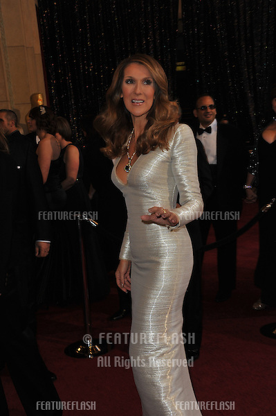 Celine Dion at the 83rd Annual Academy Awards at the Kodak Theatre, Hollywood..February 27, 2011  Los Angeles, CA.Picture: Paul Smith / Featureflash