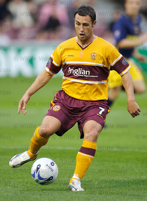 Scott McDonald, Motherwell.stock season 2006-2007.pic willie vass